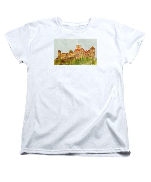 Castle Hardegg Women's T-Shirt (Standard Cut) by Angeles M Pomata