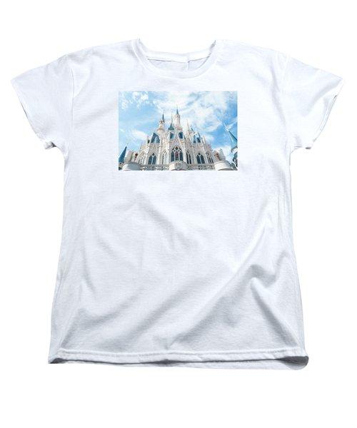 Castle Sky Women's T-Shirt (Standard Cut) by Pamela Williams