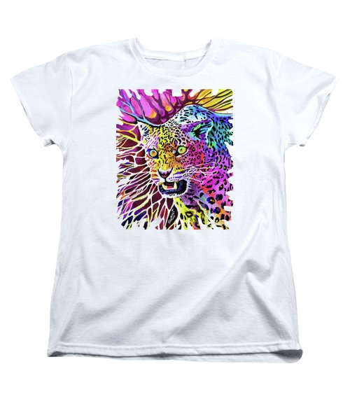 Cat Beauty Women's T-Shirt (Standard Cut) by Anthony Mwangi