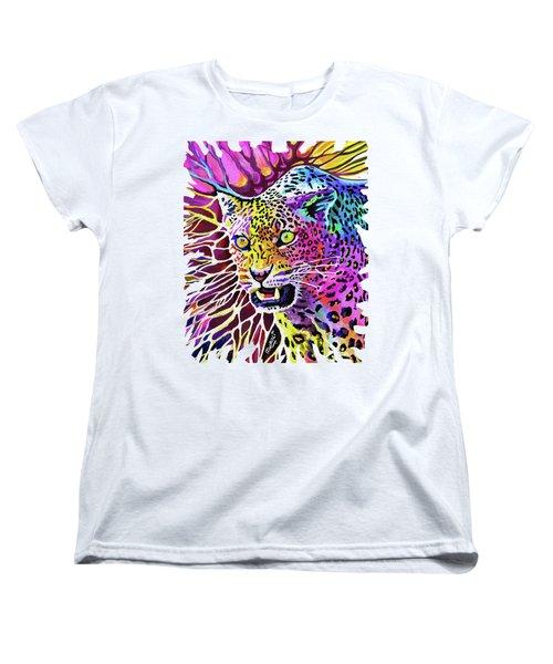 Cat Beauty Women's T-Shirt (Standard Cut)