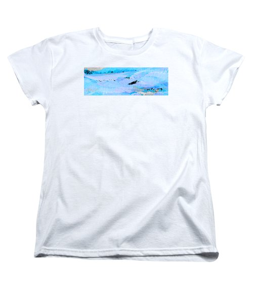 Catching Waves Women's T-Shirt (Standard Cut) by Stephanie Grant