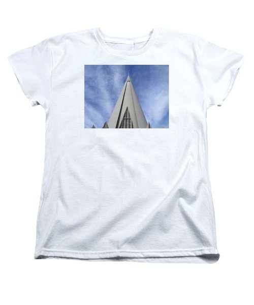 Cathedral Minor Basilica Our Lady Of Glory Women's T-Shirt (Standard Cut) by Bruna Lima
