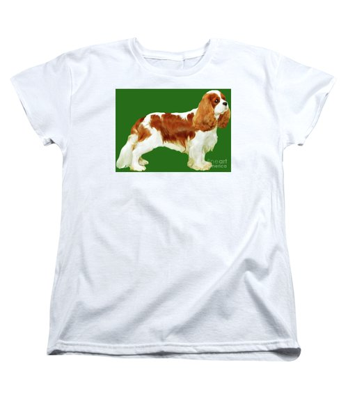 Cavalier King Charles Spaniel Women's T-Shirt (Standard Cut) by Marian Cates