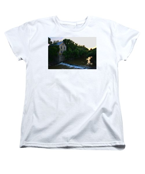 Cedar Point Mill Women's T-Shirt (Standard Cut) by Keith Stokes