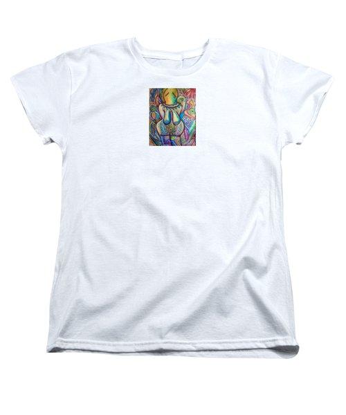 Celebrate The Feminine Power  Women's T-Shirt (Standard Cut) by Corina  Stupu Thomas