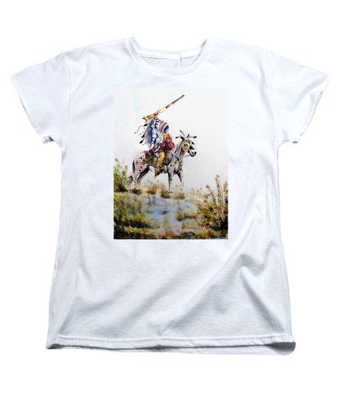 Challenge Women's T-Shirt (Standard Cut) by Jimmy Smith