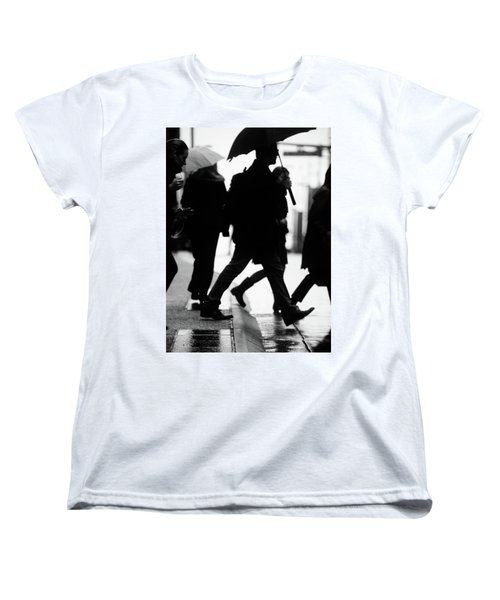 Women's T-Shirt (Standard Cut) featuring the photograph Challenge Of Peace  by Empty Wall