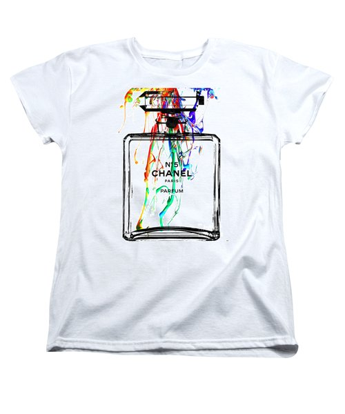 Chanel No. 5 Watercolor Women's T-Shirt (Standard Cut)