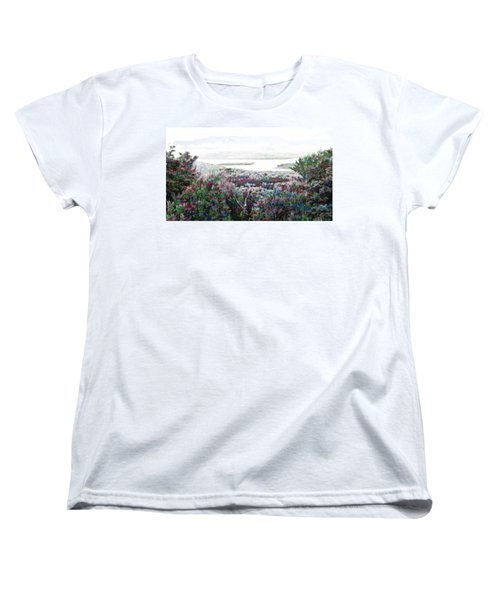 Women's T-Shirt (Standard Cut) featuring the mixed media Change Of Seasons by Mike Breau