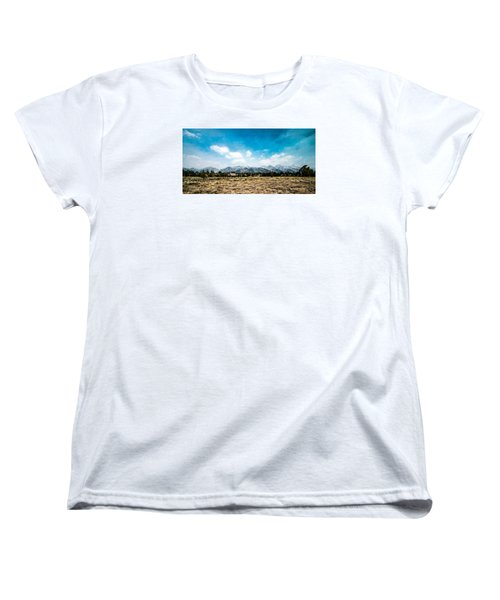 Women's T-Shirt (Standard Cut) featuring the photograph Chapel Of The Transfiguration by Cathy Donohoue