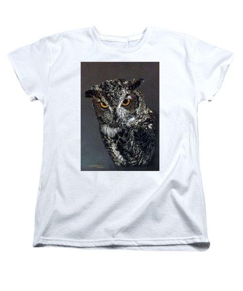 Charley Women's T-Shirt (Standard Cut) by Linda Becker