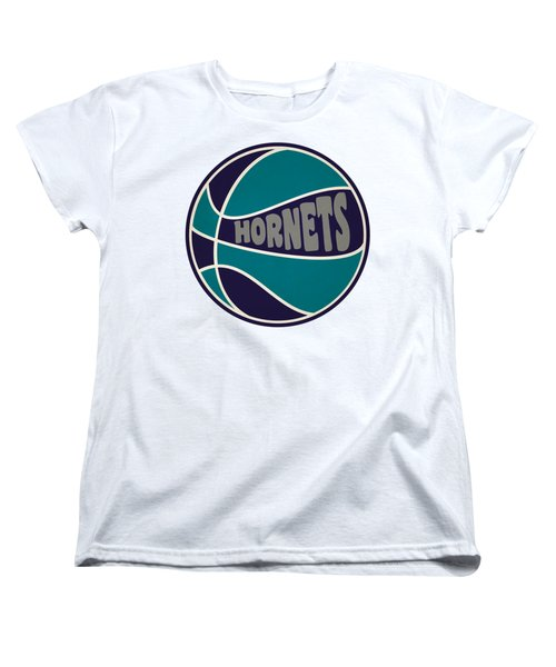 Charlotte Hornets Retro Shirt Women's T-Shirt (Standard Cut) by Joe Hamilton