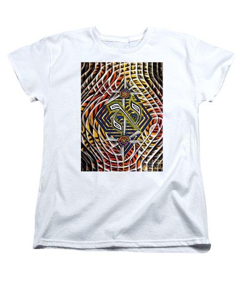 Chasmal The Speaking Silence Women's T-Shirt (Standard Cut) by Luke Galutia