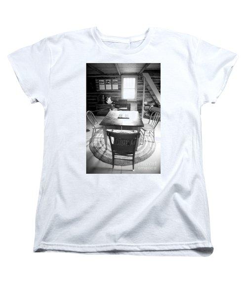 Checkers Women's T-Shirt (Standard Cut) by Randall Cogle