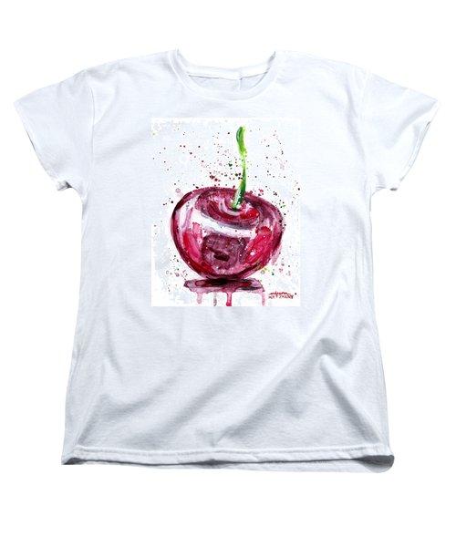 Cherry 1 Women's T-Shirt (Standard Cut) by Arleana Holtzmann