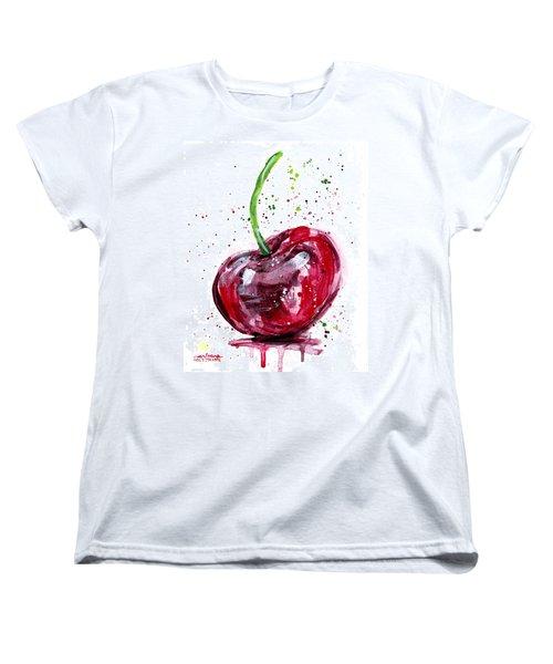 Cherry 2 Women's T-Shirt (Standard Cut) by Arleana Holtzmann