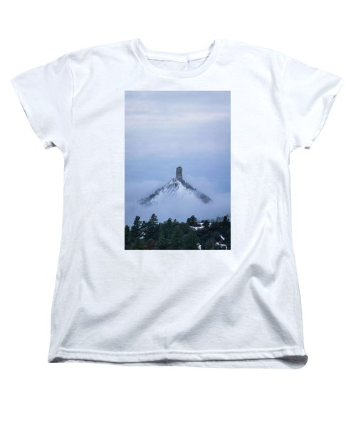 Chimney Rock Rising Women's T-Shirt (Standard Cut) by Jason Coward