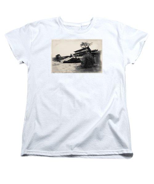 China #0640 Women's T-Shirt (Standard Cut) by Andrey Godyaykin