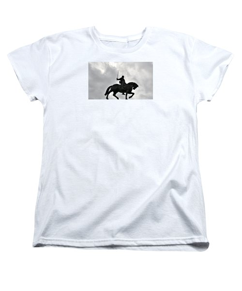 Women's T-Shirt (Standard Cut) featuring the photograph Chivalry by Marwan Khoury