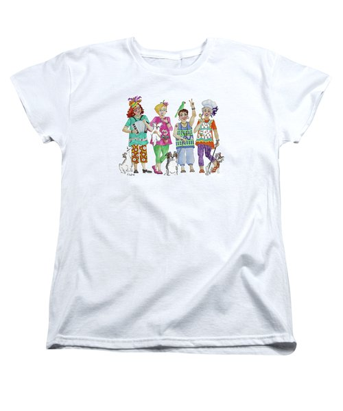 Chix Women's T-Shirt (Standard Cut) by Rosemary Aubut