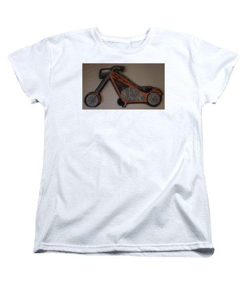 Chopper2 Women's T-Shirt (Standard Cut) by Val Oconnor