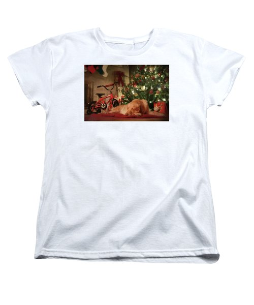 Women's T-Shirt (Standard Cut) featuring the photograph Christmas Eve by Lori Deiter