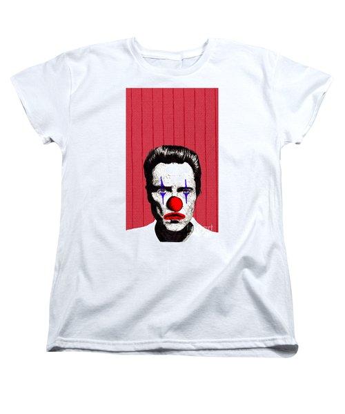 Christopher Walken 2 Women's T-Shirt (Standard Cut) by Jason Tricktop Matthews