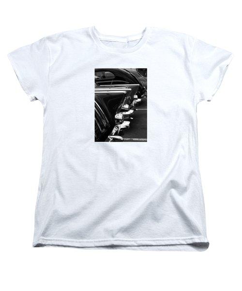 Chrome Women's T-Shirt (Standard Cut) by Steve Godleski