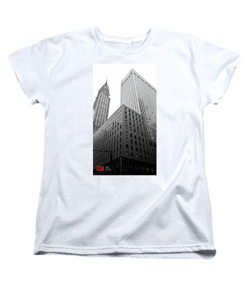 Chrystler Lofts Women's T-Shirt (Standard Cut) by Rennie RenWah