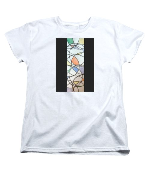 Church Glass Women's T-Shirt (Standard Cut) by Loretta Nash