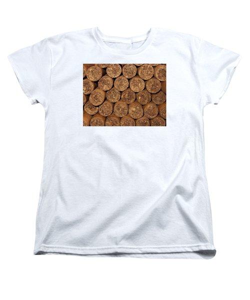 Cigars 262 Women's T-Shirt (Standard Cut) by Michael Fryd