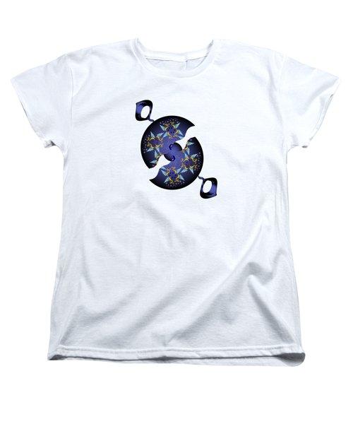Circularium No 2634 Women's T-Shirt (Standard Cut) by Alan Bennington