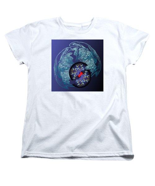 Circularium No 2636 Women's T-Shirt (Standard Cut) by Alan Bennington