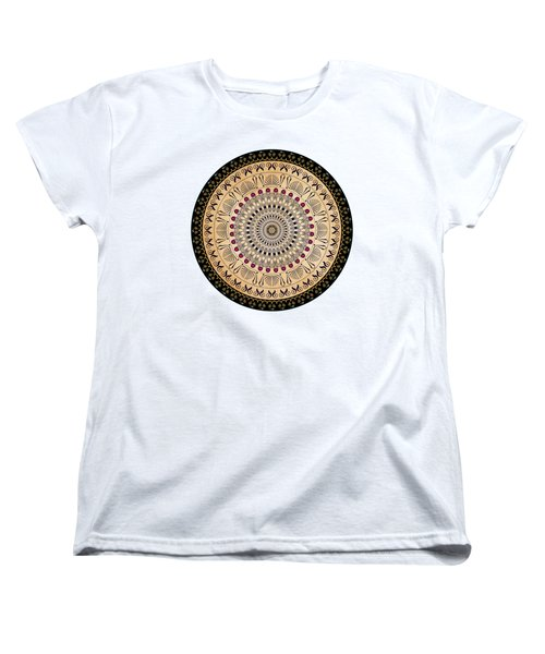 Circularium No 2637 Women's T-Shirt (Standard Cut) by Alan Bennington