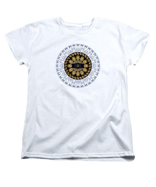 Circularium No 2638 Women's T-Shirt (Standard Cut) by Alan Bennington