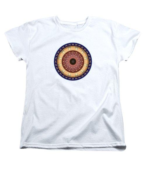 Circularium No 2647 Women's T-Shirt (Standard Cut) by Alan Bennington
