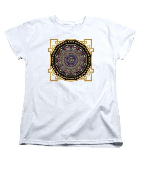 Circularium No 2652 Women's T-Shirt (Standard Cut) by Alan Bennington