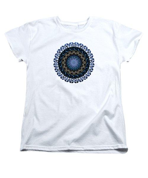 Circularium No 2657 Women's T-Shirt (Standard Cut) by Alan Bennington