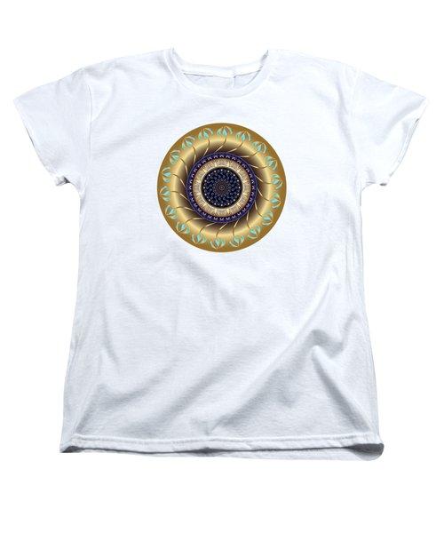 Circularium No 2708 Women's T-Shirt (Standard Cut) by Alan Bennington