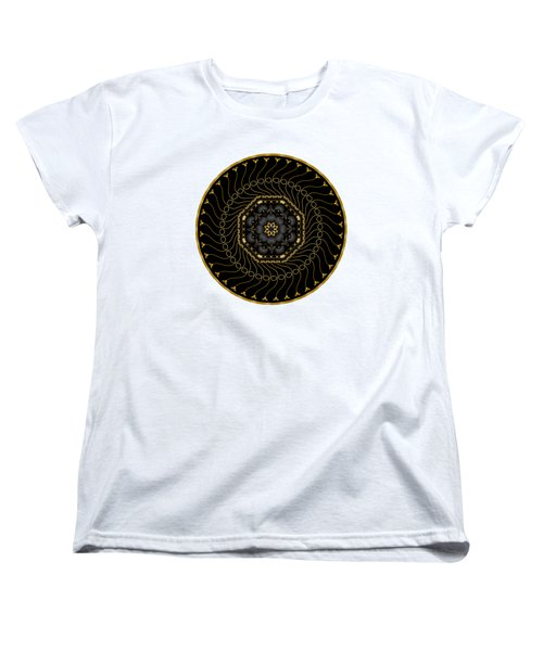 Circularium No 2713 Women's T-Shirt (Standard Cut) by Alan Bennington