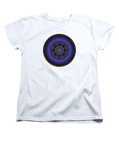 Circularium No 2714 Women's T-Shirt (Standard Cut) by Alan Bennington