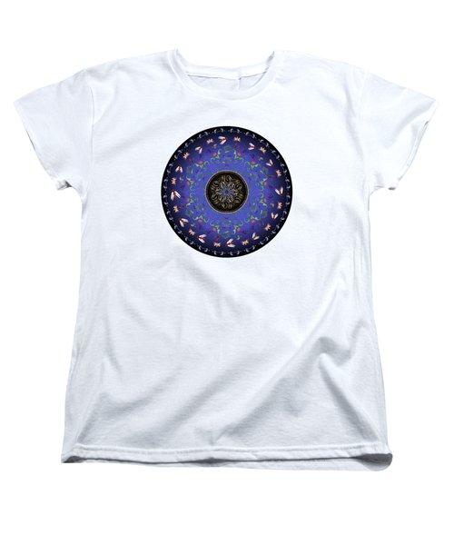 Circularium No 2717 Women's T-Shirt (Standard Cut) by Alan Bennington
