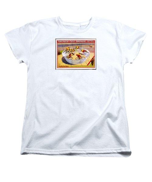 Circus Life Women's T-Shirt (Standard Cut) by Allen Beilschmidt