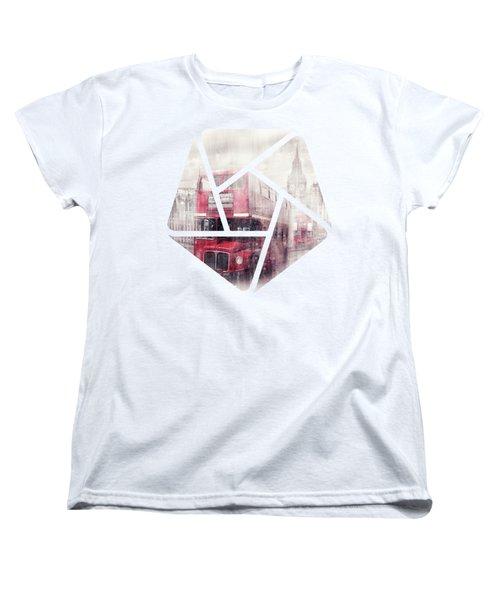 City-art London Westminster Collage II Women's T-Shirt (Standard Cut)