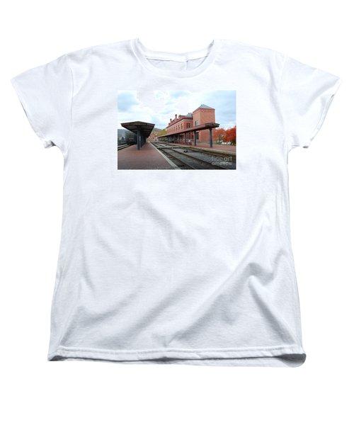 City Station Women's T-Shirt (Standard Cut) by Eric Liller