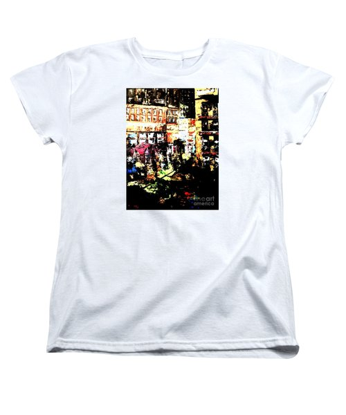 City Stroll Women's T-Shirt (Standard Cut) by Denise Tomasura