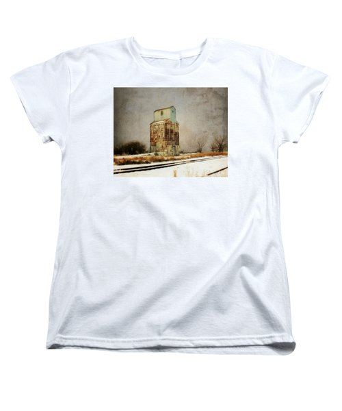 Women's T-Shirt (Standard Cut) featuring the photograph Clare Elevator by Julie Hamilton