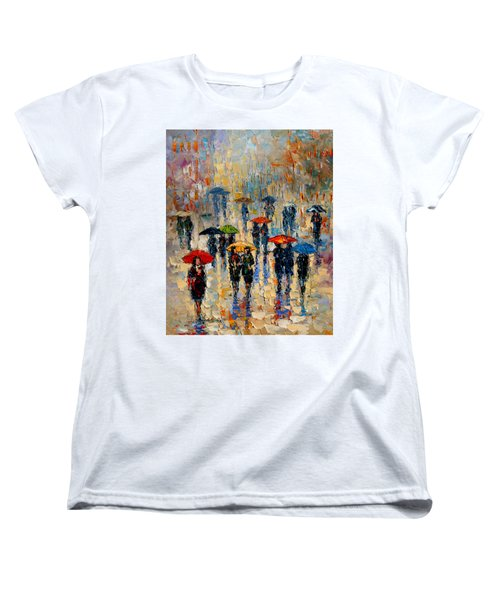 Cloudy Day Women's T-Shirt (Standard Cut) by Andre Dluhos