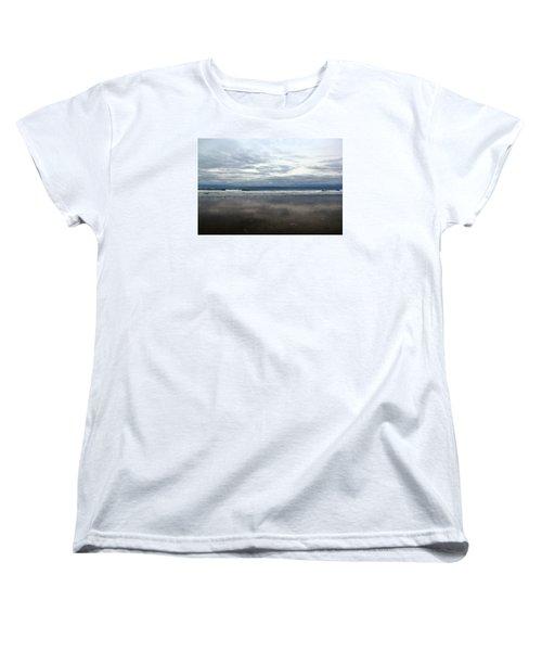 Cloudy Reflections Women's T-Shirt (Standard Cut)