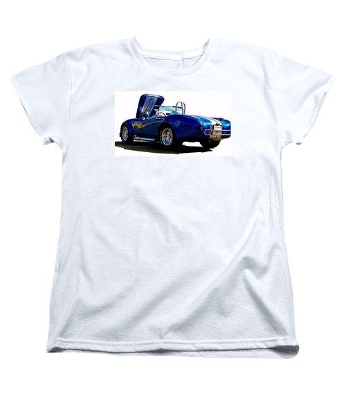 Cobra 427 Women's T-Shirt (Standard Cut) by Sue Stefanowicz